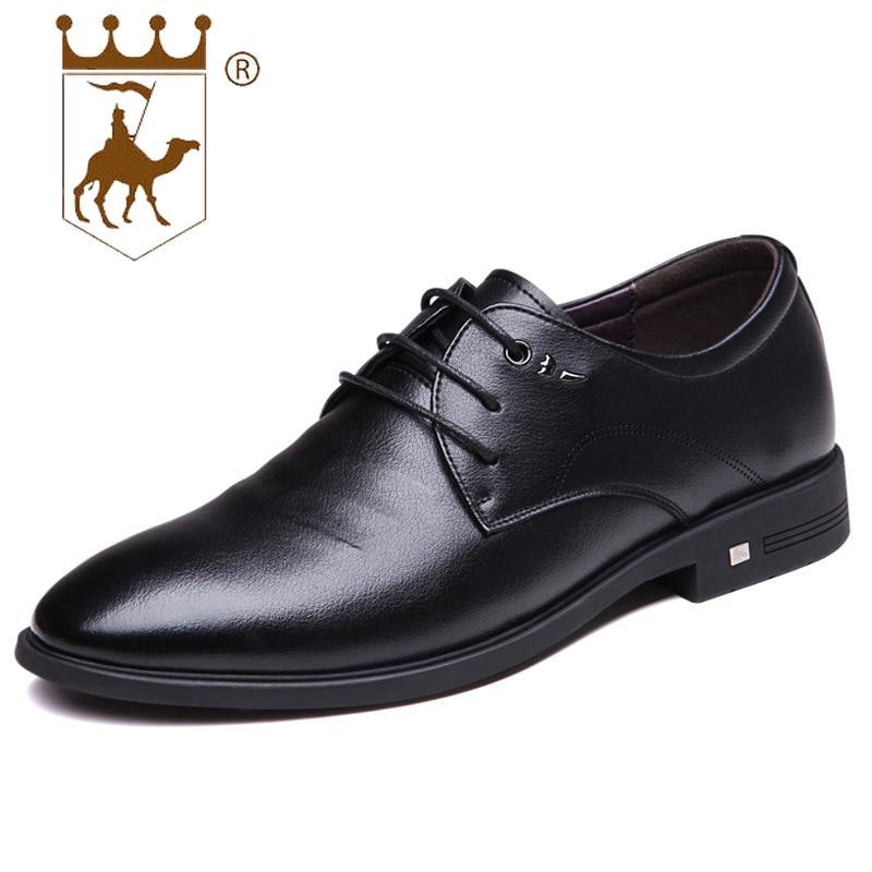 BACKCAMEL2019 printemps nouveau hommes d'affaires robe de mariée chaussures de couleur unie avec semelle en caoutchouc slip résistant à l'usure code numéro 39-43
