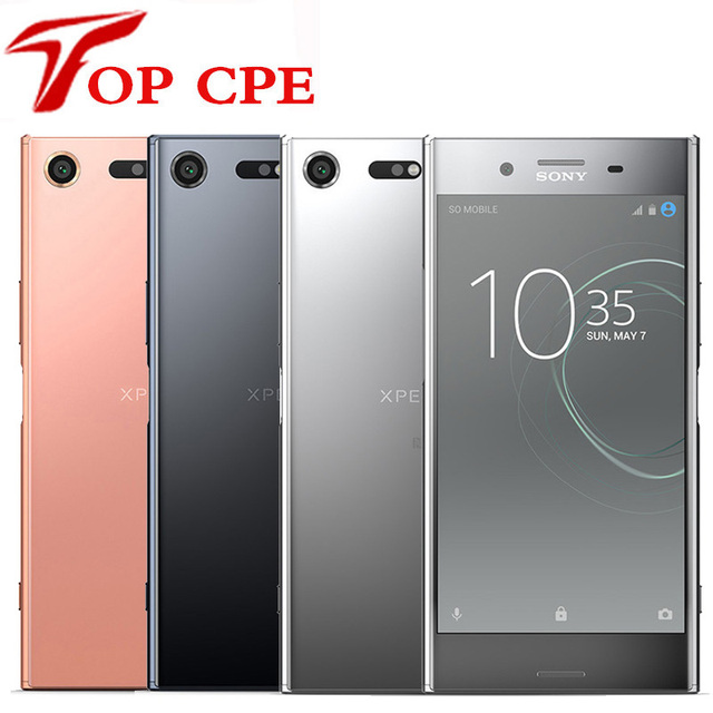 cde5ac967a5 Original Sony Xperia XZ Premium G8142 Unlocked RAM 4GB ROM 64GB Dual Sim  GSM 4G LTE Android Octa Core 5.5