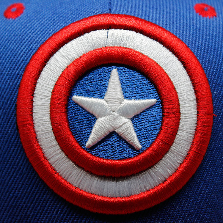 Super Hero Captain America Baseball Cap New Fashion Men and Women Cosplay  Cartoon Cap Embroidery Blue Hip Hop Caps Snapback Hats-in Baseball Caps  from ... af39104e82a9