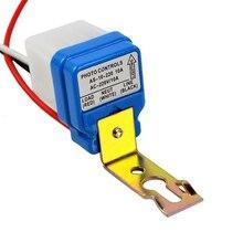 Mayitr interruptor de luz de rua automático, ac 12v 24v 220v, interruptor de luz de rua automático à noite, fora do dia, sensor fotocontrole interruptor do sensor