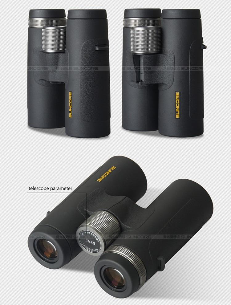 SUNCORE Ocular ED 8X42 10X42 telescópio binocular