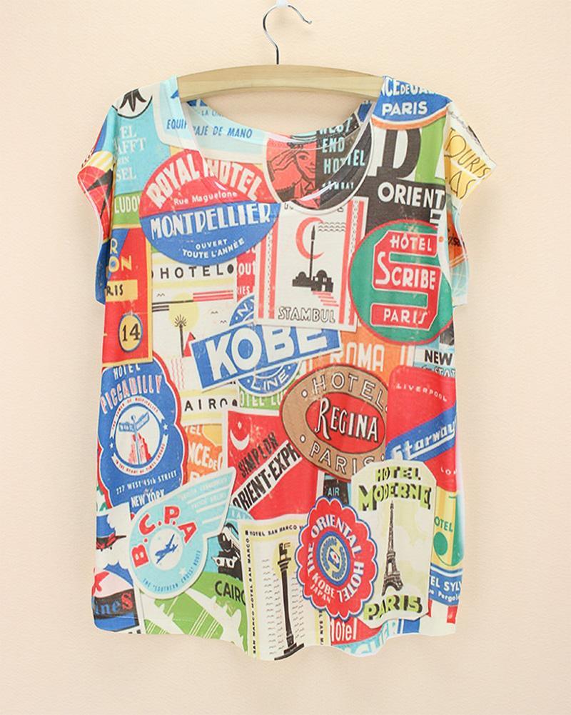 Design t shirt price - 2015 New Summer Brand Design T Shirt Women Plus Size Tee Novelty Bermuda Top Tees America