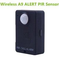 Leshp a9 mini sensor de alarme pir infravermelho gsm alarme sem fio alta sensibilidade monitor de detecção de movimento anti roubo plugue da ue|Sensor e detector| |  -