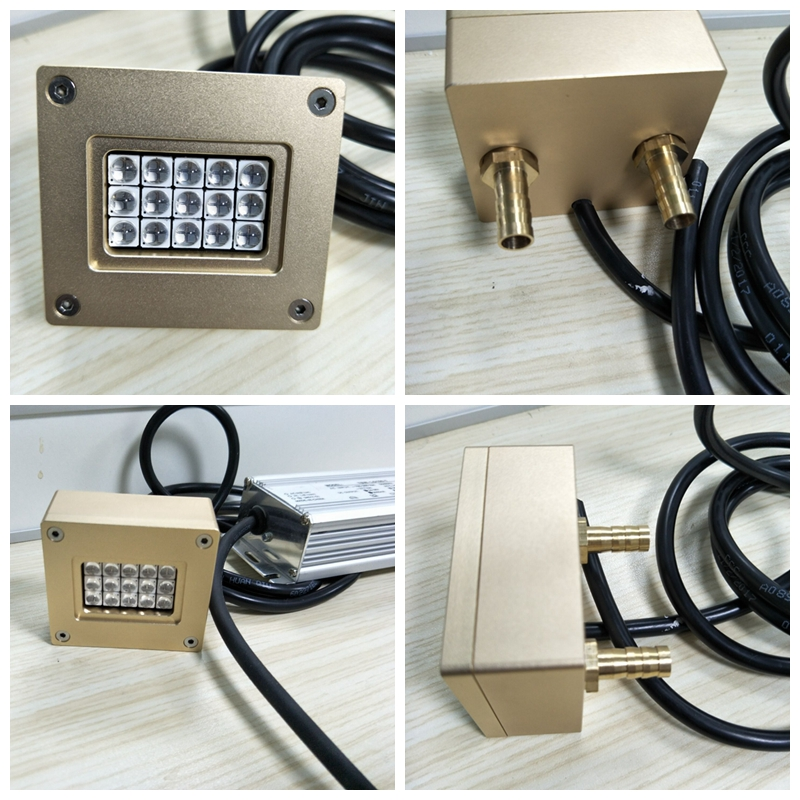 100 Вт 150 Вт UV LED модель 395nm для УФ излучения, планшетный принтер, УФ отверждения клея свет чернил, трафаретная печать печатная машина, 3D pprinter