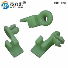 KE LI MI Door Lock Rod Durable Materials Nylon Green Retainers Moulding Clips