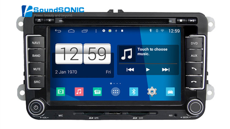 buy rns510 rcd510 android 4 4 4 for vw for volkswagen car radio stereo dvd gps. Black Bedroom Furniture Sets. Home Design Ideas