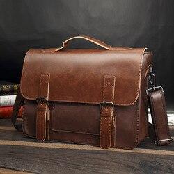 Tasche herren Leder aktentasche Männlichen mann laptop tasche natürliche Leder für männer Messenger bags herren aktentaschen