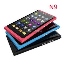 Восстановленное в Исходном Nokia N9 телефон N9-00 A-GPS WIFI 3 Г GSM 8 МП Камерой 16 ГБ Внутренняя Открыл Мобильный Телефон бесплатно доставка