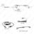 6-LED de Luz de Freno del coche LED IR Cámara de Visión Trasera Aparcamiento Cámara para RAM Promaster Cargos Van # FD-5372