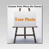 1 Piece Waterproof Unframed Art Painting Custom Your Art Photos On Canvas Customize Print Your Family