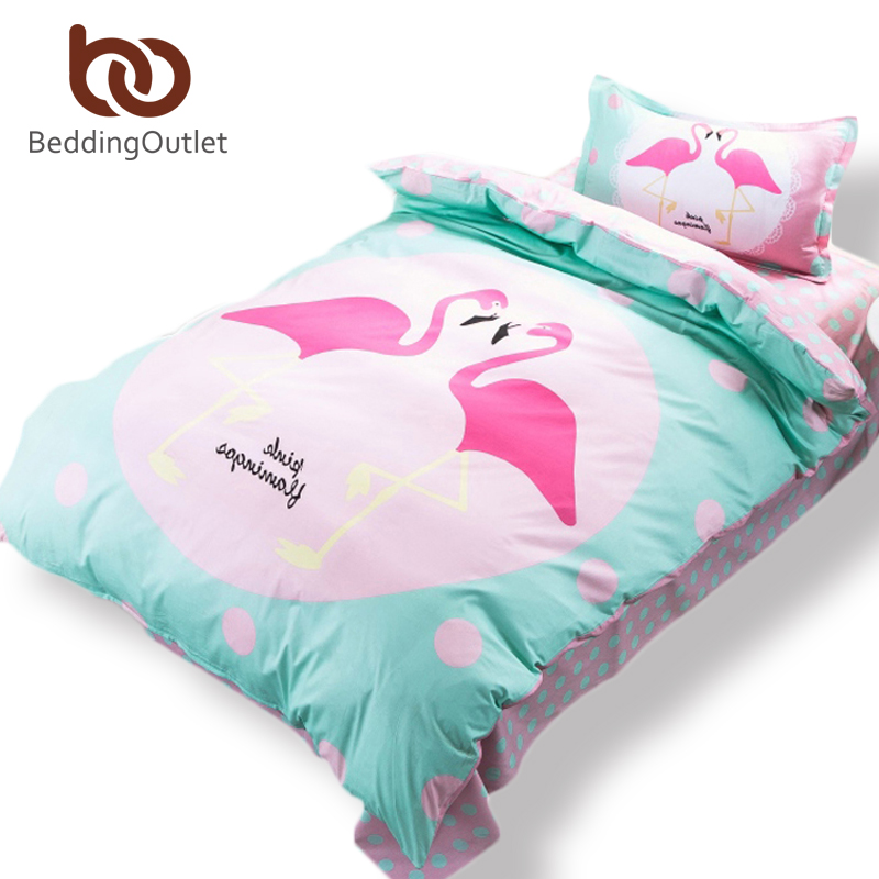 compra flamingo ropa de cama online al por mayor de china. Black Bedroom Furniture Sets. Home Design Ideas