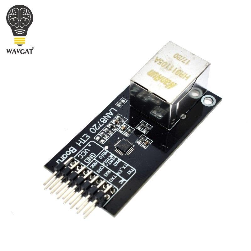 WAVGAT умная электроника LAN8720 модуль сетевой модуль Ethernet трансивер RMII интерфейс разработка платы для arduino.