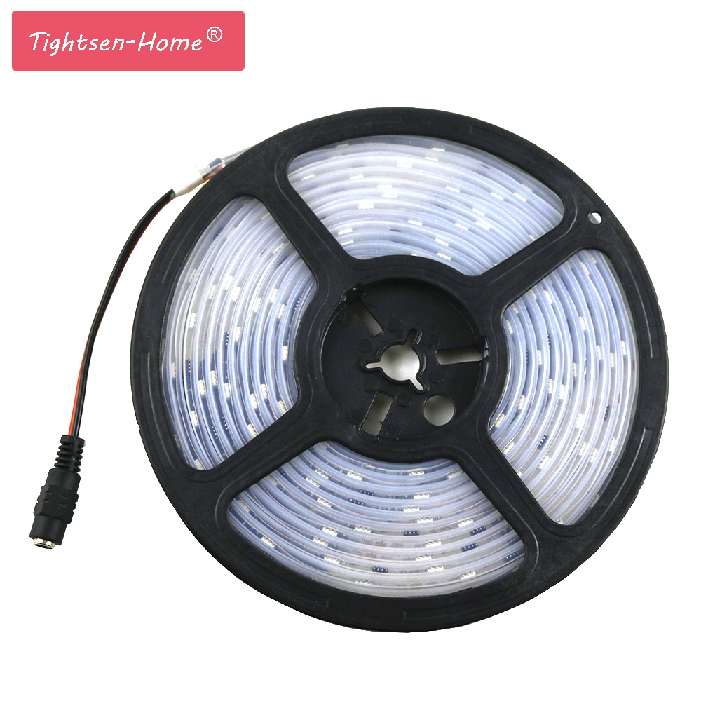 ws2811 led strip 5050 SMD RGB string Addressable 30 leds/m Led Pixels External 1 ic control 3 Leds 5m DC12V No need controller купить в Москве 2019