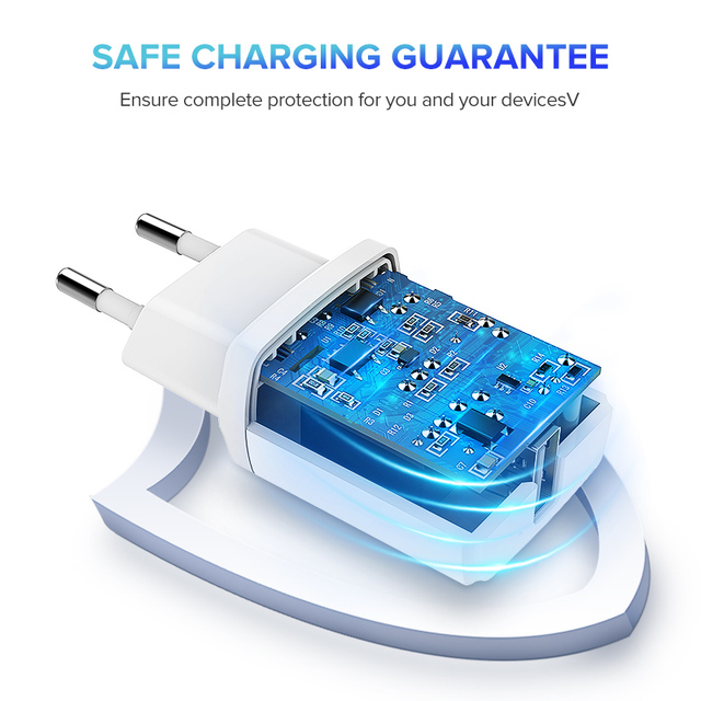 5V 2.1 A USB Charger for Mobile Phone