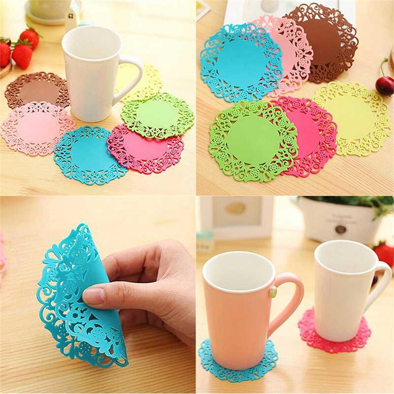 Кружки coaster чашка салфетки ПВХ коврик для кружек чай Zakka украшение стола офисные аксессуары Школьные принадлежности