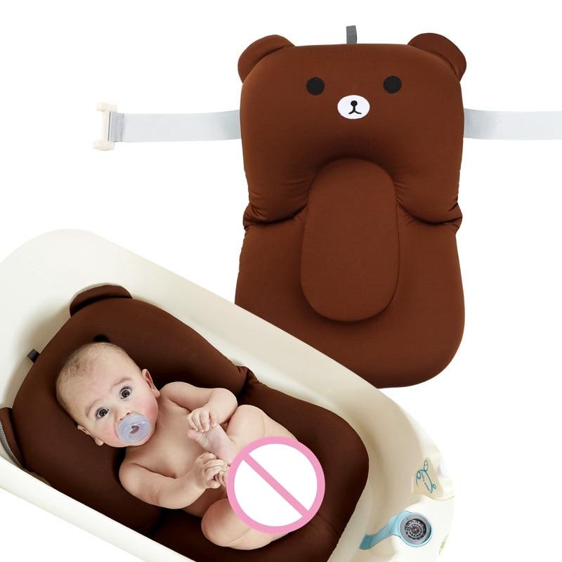 Bear High Quality Anti skid Baby Bathing Mat Baby Bathtub Shower ...