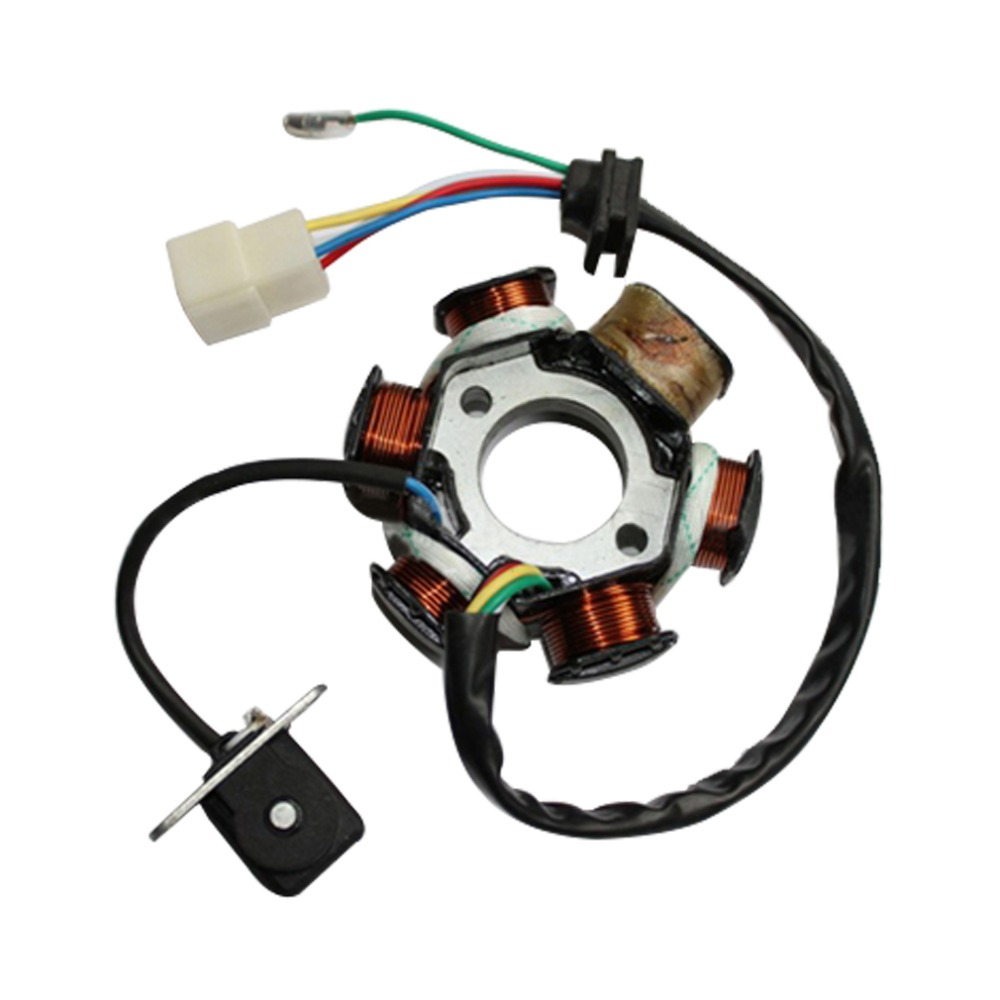 Rectifier For Gy6 150cc Wiring Diagram Library Stator 4 Wire Regulator Goofit 6 Poles 5 Wires Half Wave Ignition Magneto Rh Aliexpress Com