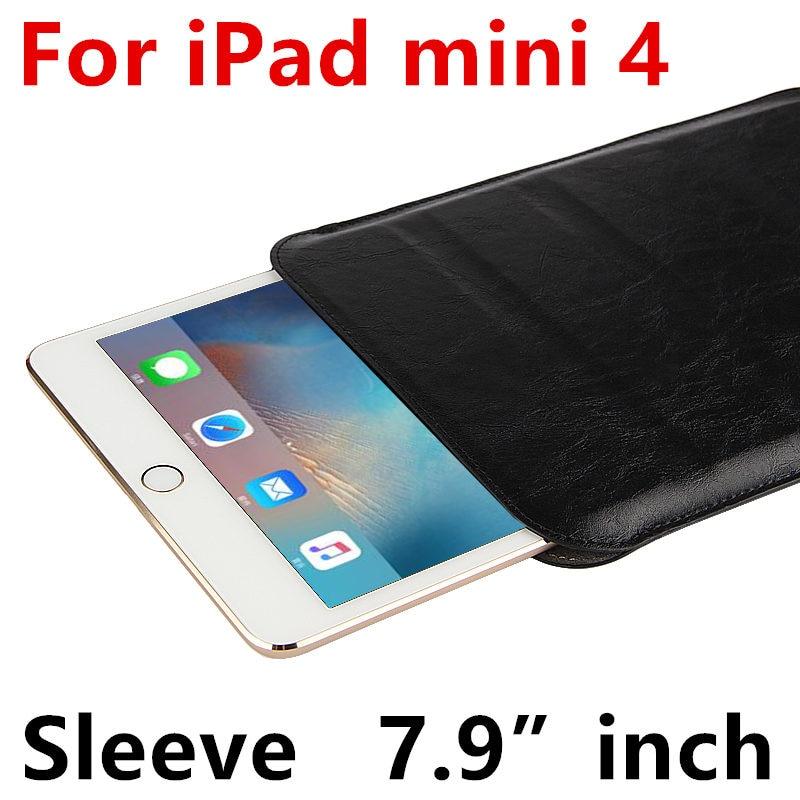 Case Sleeve For iPad mini 4 Protective Smart cover Protector Leather For Apple iPad mini4  7.9 inch Tablet Cases Covers Pouch case for apple ipad pro 9 7 inch protective shell smart cover pu leather back cases tablet pc for ipad pro9 7 ipad7 9 7 covers