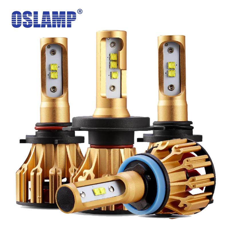 Oslamp 70 watt 7000lm H4 LED Scheinwerfer H11 H7 9005 HB3 9006 HB4 Led Auto Lampen Ligh SMD Chips LED auto Front Lampen Alle-in-one