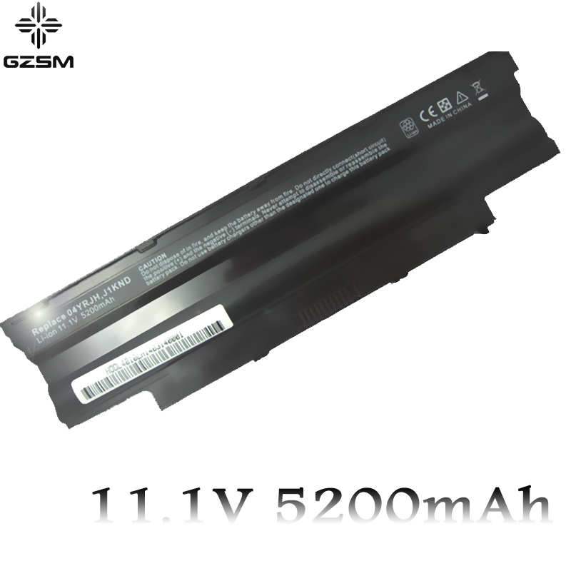 GZSM Laptop Battery N4010 For Dell 14R Battery For Laptop N3010D N7010 N5010 N3010 J1KND N3110 N4050 N4110 N5010D N5110 N7010