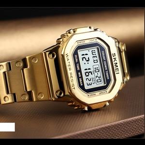 Image 3 - Часы наручные SKMEI мужские электронные светодиодные, цифровые брендовые Роскошные водонепроницаемые