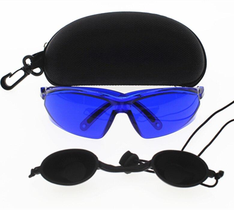 IPL óculos de segurança óculos de segurança óculos de proteção para os  olhos laser vermelho de Luz Médica Do Paciente de Proteção ocular para a  Beleza DO ... 05a84f304b