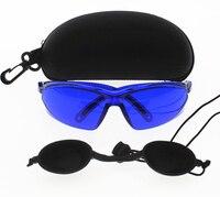 Óculos de segurança do ipl proteção para os olhos laser vermelho óculos de segurança luz médica paciente proteção e luz eyecup para a beleza do ipl ipl safety glasses safety goggles safety glasses -