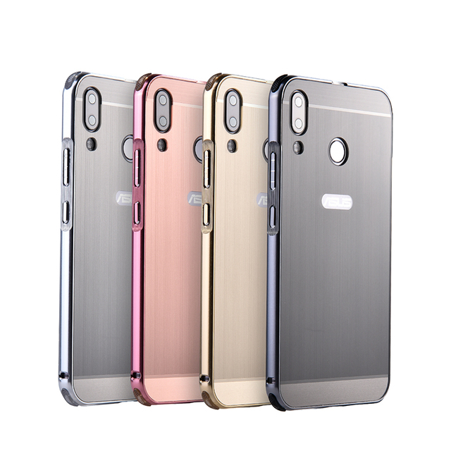huge discount 73708 3cff1 US $7.2 6% OFF|Aluminum Metal+PC Case For Asus Zenfone 5Z / Zenfone 5  ZE620KL Hard Mirror Hybrid Protect back cover for Asus Zenfone 5Z  ZS620KL-in ...