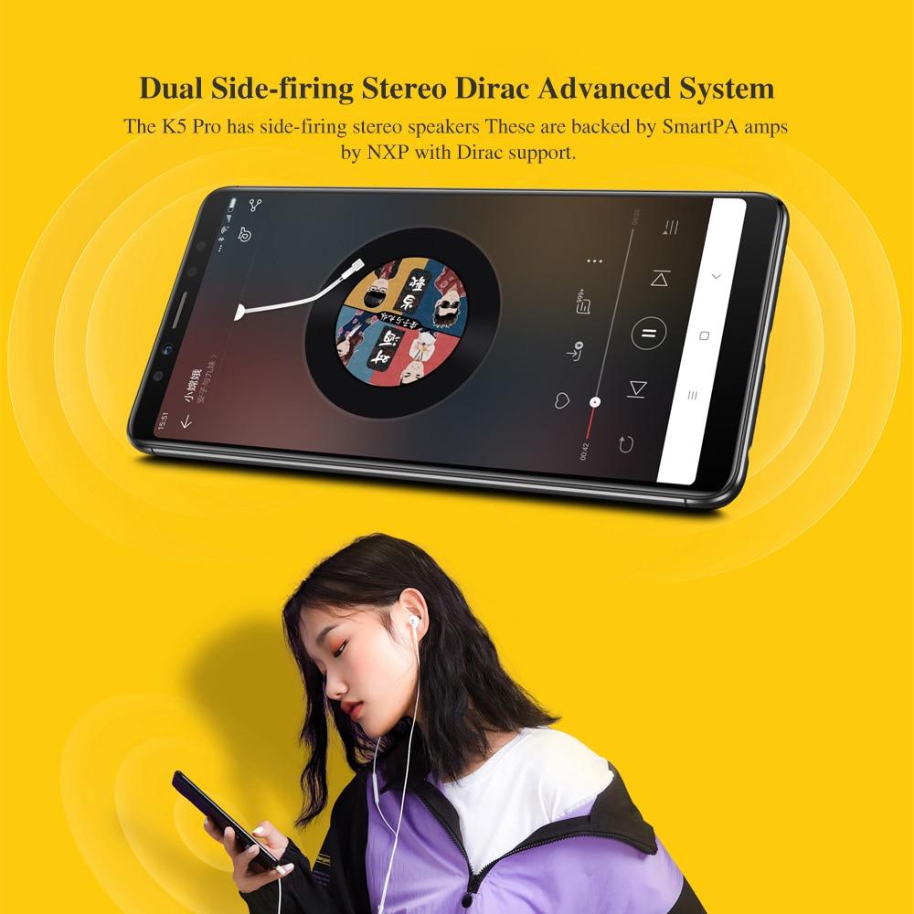 Global Version Lenovo K5 Pro 4GB 64GB Snapdragon636 Octa Core Smartphone Four Cameras 5.99inch 189  4G LTE Phones 4050mAh (11)