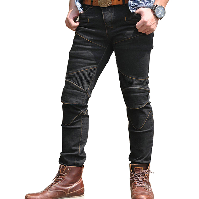 fb2a6de2fe2 New Motorcycle Pants Men Moto Jeans Protective Gear Riding Touring Motorbike  Trousers Motocross Enduro Pants Pantalon Moto Pants