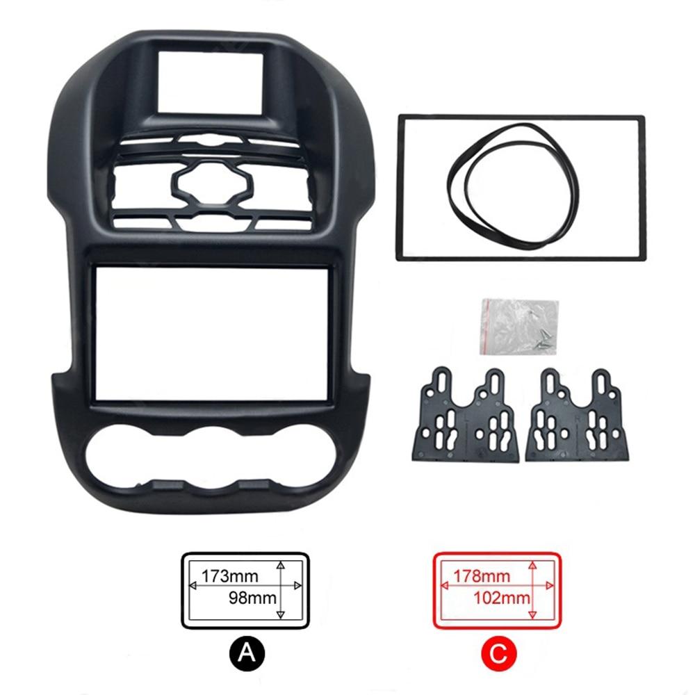2 дин радио кадров для Ford Ranger высокое Стандартный 2012 Кадр автоматический DVD Панель приборной панели MP3 плеер фасции