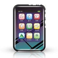 Mini ABS Mp3 Player Built In 8G Bluetooth Hifi With Speaker Full Press Screen Fm Radio Usb Flac Audio Running Walkman Sport
