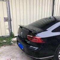 SHCHCG For Volkswagen Passat B7 2013 2018 ABS Plastic Unpainted Primer Color Rear Spoiler Rear Trunk Lip Wing Car Accessories