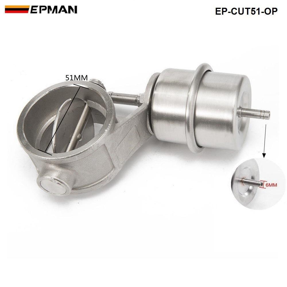 2 ''51 мм Открытый Вакуумный Выпускной вырез клапан с беспроводным пультом дистанционного управления Набор для AUDI A4 B6 1,8 T EP-CUT51-OP-DZ