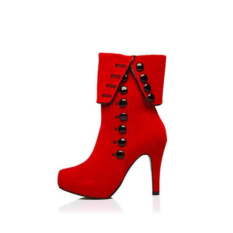 40627c5c62931 Moda 1 Altos Botas 2 Botines Zapatos De Plataforma Mujer Y Para Tacones  2018 fqfE4xX