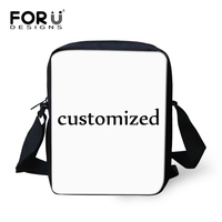 FORUDESIGNS Custom Mini Messenger Bag For Women High Quality Children Girls Boys Crossbody Bags Small Portable