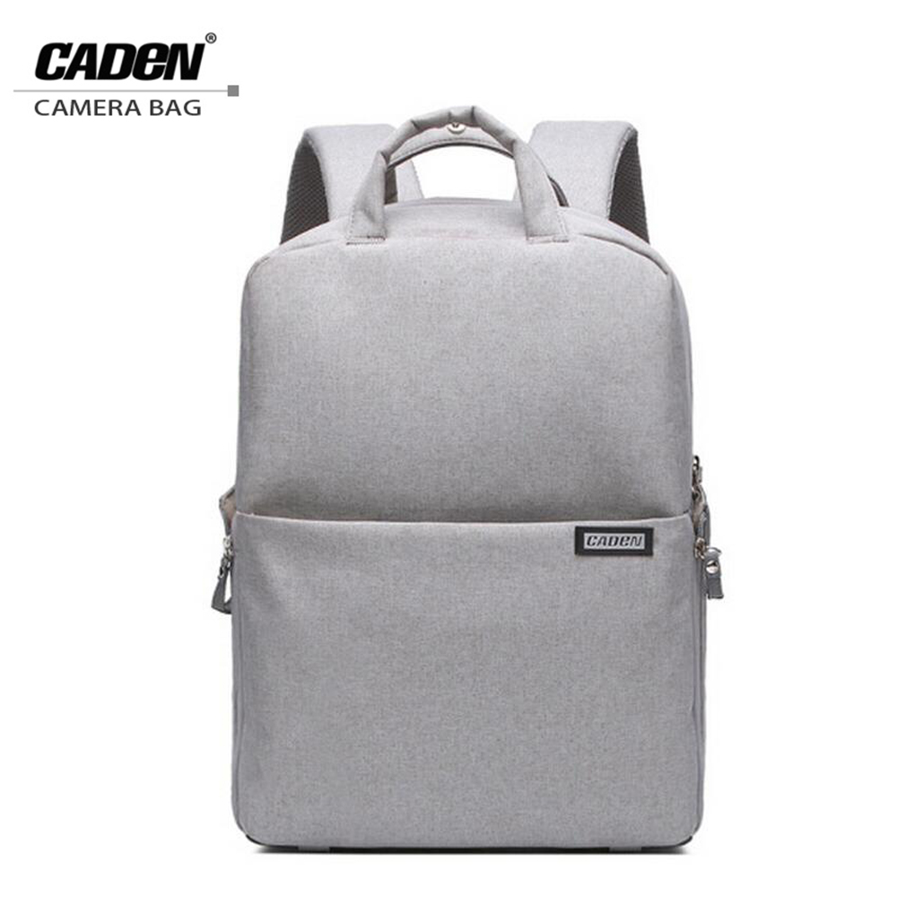 CADeN 2017 Digital DSLR Camera Bag Waterproof Photo Backpack Photography Camera Video Bag For Dslr Canon Nikon Sony L5 new pattern caden l5 camera backpack bag stylish nylon multifunction shockproof video photo bags fit for canon 50d 60d 100d 550d