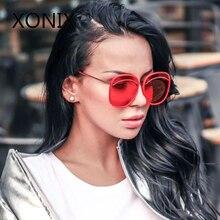 XONIX Brand Design New Fashion Sunglasses Women Round Sun Glasses Ladies Goggles Oculos UV400 De Sol Retro