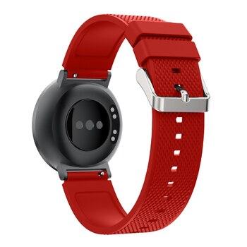 Bemorcabo สำหรับ Huawei นาฬิกา, 18 มม. กีฬาสร้อยข้อมือซิลิโคนนาฬิกาสายรัดข้อมือสำหรับ Withings Activite/เหล็ก/Pop 6 สี