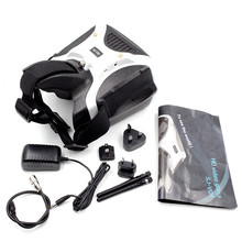 SKYZONE SJ-V01 FPV Goggles 5.8G 40CH FPV Video Goggles 7 Inch 1280×720 HD Glasses With HDMI Input Built-in Speaker