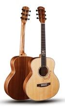 JOKER 38 inch gsmini BODY Solid guitar With Spruce top /Mahogany Body Full size Body,JD-M312