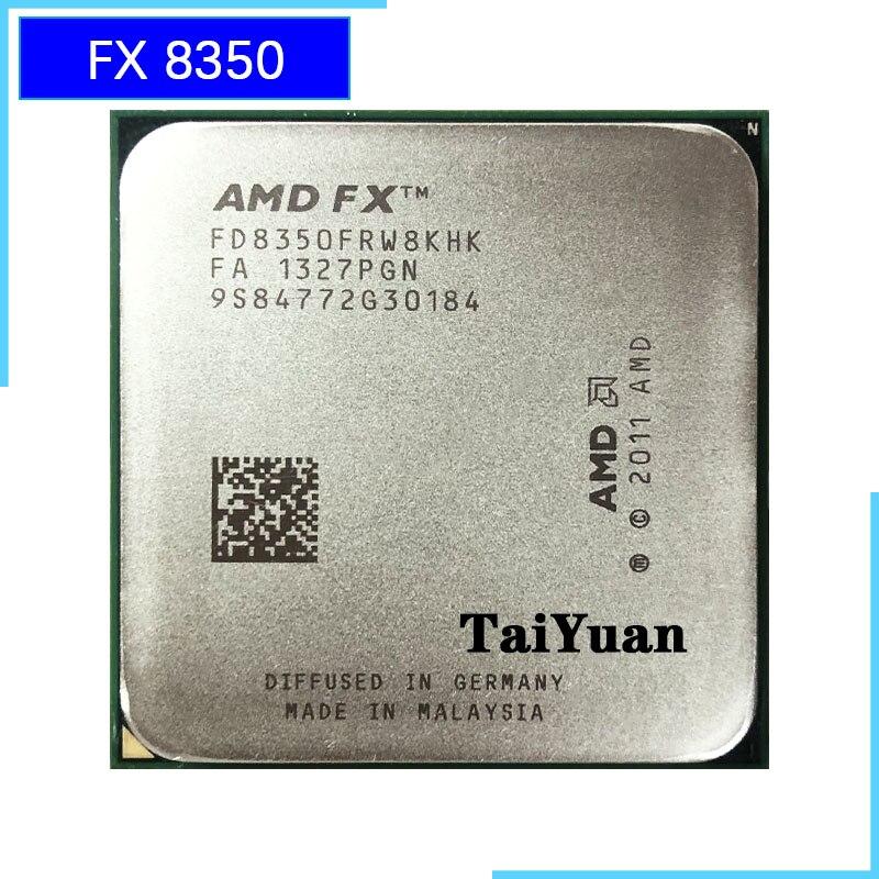 AMD FX Series FX 8350 FX 8350 4 0G Eight Core CPU Processor 125W FD8350FRW8KHK Socket