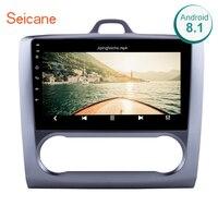 Seicane 9 дюймов сенсорный экран 2DIN Android 8,1/7,1 1080 P головное устройство мультимедийный стерео для 2004 2011 Ford Focus Exi с FM AUX