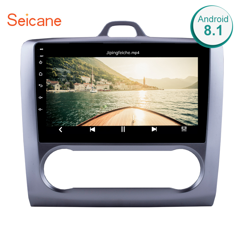 Seicane 9 Inch Touchscreen 2DIN Android 8.1/7.1 1080P headunit multimedia stereo for 2004-2011 Ford Focus Exi AT with FM AUX