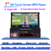 Auto Stereo Audio Car Radio GPS Navigation Bluetooth 2 DIN HD 7 Inch Retractable Touch Screen