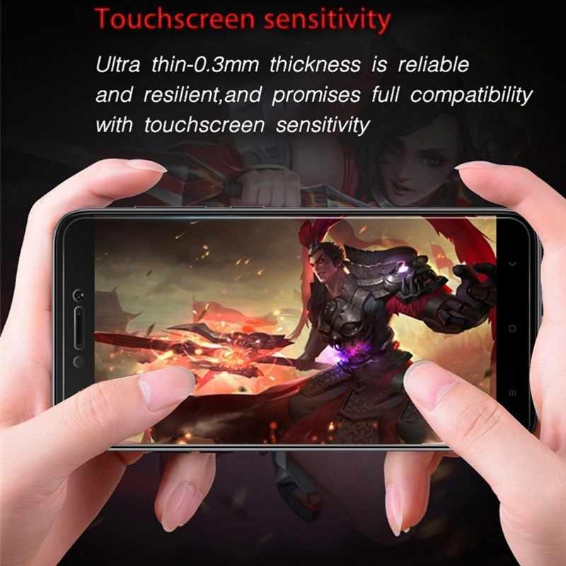 3 шт./лот закаленное Стекло Экран протектор для Xiaomi Redmi 6 6A S2 Y2 5A 5 плюс Примечание 6 5 Pro 4 4X взрывозащищенные