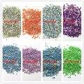 Decoração de metal 8000 unidades/pacote 2 MM Half mixs cor de diy e decoração de unhas de beleza meninas acessórios