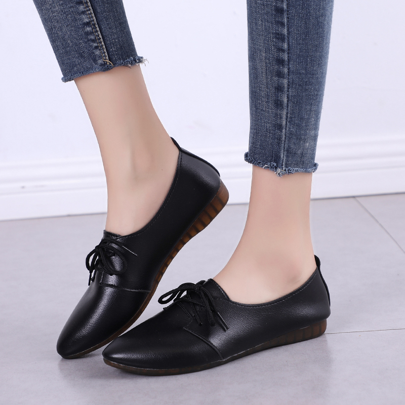 2019 New Arrival Women Flats Shoes Pointed Toe Shallow Flats Fashion Spring Autumn Women Shoes Loafers Casual Soft Zapatos Mujer 3