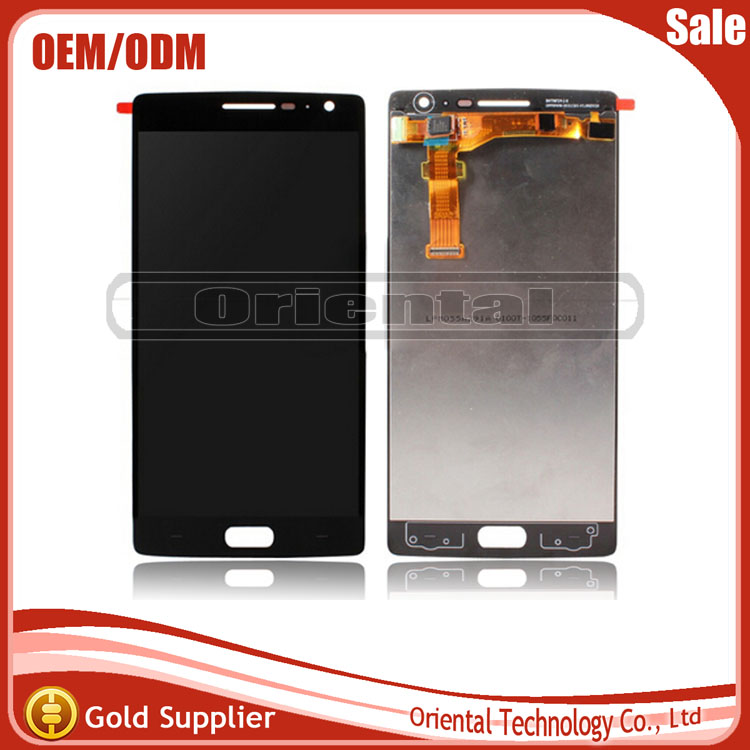 NEW LCD display Touch Screen Digitizer full Assembly replacement parts For oneplus two one plus 2 free shipping