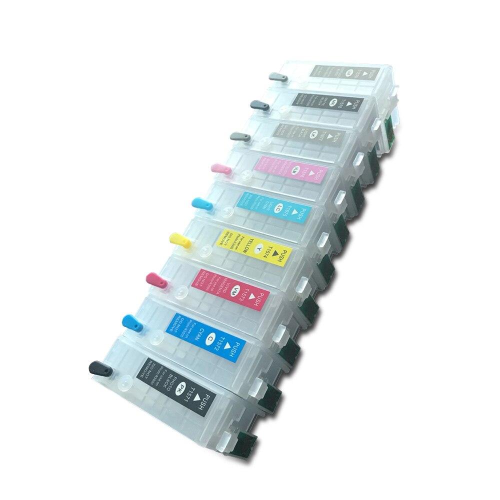 สำหรับEPSON Stylus Photo R3000เครื่องพิมพ์ที่ว่างเปล่าตลับหมึกรีฟิลกับARCชิป, T1571 T1572 T1573 T1574 T1575 T1576 T1579-ใน ตลับหมึก จาก คอมพิวเตอร์และออฟฟิศ บน AliExpress - 11.11_สิบเอ็ด สิบเอ็ดวันคนโสด 1